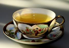 tea in a cup