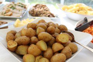 potatoes on plate