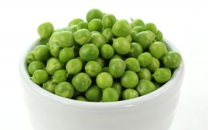peas in bowl