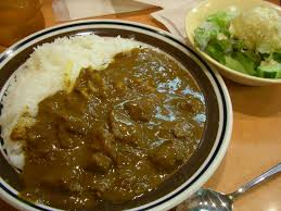 beef cheese curry with rice